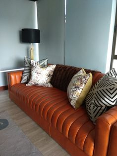 Simple Addition, Sofa, Couch, Soft Furnishings, Blinds, Interior, Furniture, Ideas, Home Decor