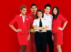 Air Asia X cabin crew - Air Asia provides inexpensive flights throughout Asia and also to Australia , great value for money and friendly service