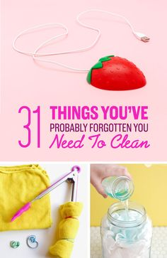 31 Little Things You've Probably Forgotten You Need To Clean