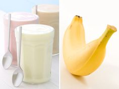To refuel after a workout Pair up: Yogurt & bananas  Since exercise burns glucose, post-workout bouts of low blood sugar are not uncommon for people with type 2 diabetes. The perfect snack to prevent such hypoglycemic attacks combines a carbohydrate (banana) with protein (yogurt). Carbs replenish your blood sugar levels and protein increases fullness and prevents blood sugar levels from rising too quickly.