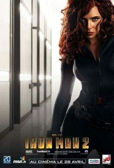Black Widow character poster for Iron Man 2 with Scarlett Johansson. Dark Knight Rises Catwoman, The Dark Knight Rises, Batman The Dark Knight, Iron Men, Marvel Dc, Iron Man 2 2010, Dc Comics, Black Widow Scarlett, French Movies