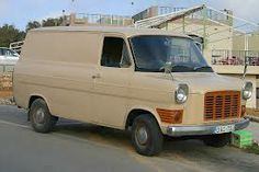 Ford Transit Mk 1 Diesel van on the island of Malta