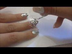 Unhas Decoradas - Diamante - Nail Art - YouTube