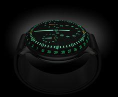 Liquid Watch Turns Wrist Watches Into Futuristic Time Pods