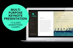 Check out Corporate Multipurpose Keynote by creativebythesea on Creative Market
