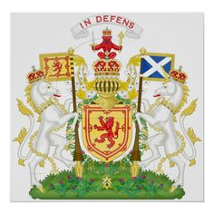Royal Coat of Arms of the Kingdom of Scotland used from the century to Used by the Kings of Scots up until the Union of the Crowns in 1603 under King James VI & I, of Scotland and England. Scotland Coat Of Arms, James V Of Scotland, English Monarchs, William Wallace, King William, National Animal, Banner, Kingdom Of Great Britain, Family Crest