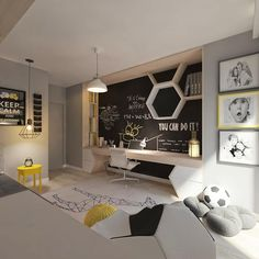 Stylish and Modern Apartment Decor Ideas 077 Teen Room Decor Ideas Apartment Decor Ideas Modern Stylish Modern Apartment Decor, Teenage Room, Kids Room Design, Kid Spaces, Boy Room, Child's Room, Room Lamp, Desk Lamp, Girls Bedroom