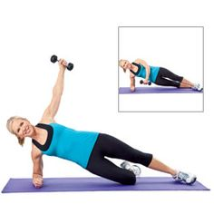 Banish back fat, bra rolls, muffin tops, and more. Great workouts