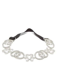 ea61f1cc075 GUCCI GG pave crystal headband..Gucci s notorious Interlocking G - first  introduced in the