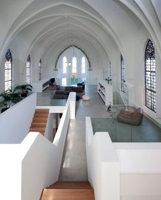 Old church converted into homes. Utrecht