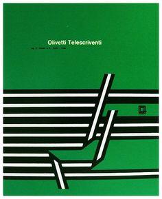 Olivetti Telescriventi ~ Walter Ballmer | #Telex #Olivetti