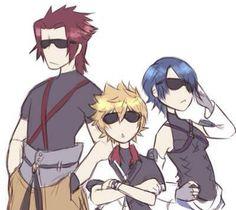 Terra, Aqua, and Ventus - Kingdom Hearts Birth by Sleep