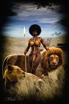 We Love & Support The African American Arts! Black Girl Art, Art Girl, Orishas Yoruba, Arte Black, Afrique Art, Black Art Pictures, Baby Pictures, Black Artwork, Afro Art