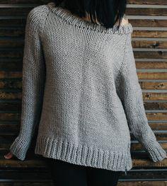 Knitting Pattern for Undone Pullover Tricot Femme, Tricot Et Crochet,  Modèle À Tricoter Cardigan 4c1a68c1455