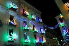 Salerno, Luci d'Artista Largo Campo  www.livesalerno.com  #lucidartista #lucidartista2015 #salerno #luminarie #lucidartistasalerno #mercatinidinatale #christmas #christmasmarket