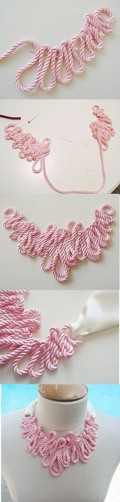 Rope Necklace DIY