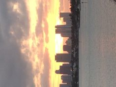 Downtown Miami from Belle Island