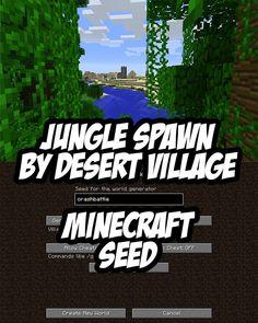 Jungle Spawn by Desert Blacksmith Village. Seed:crashbattle