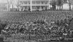 "Native children taken from tribes & boarded at Government schools to be transformed from a state of savagism, to be returned thoroughly civilized at commencement. It was the school's quintessential mission. ""The Indian is DEAD in you."" Reverend A.J.Lippincott proclaimed at a Carlisle commencement. ""Let all that is Indian within you die! You cannot become truly American citizens,industrious,intelligent,cultured,civilized until the INDIAN within you is DEAD."""