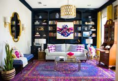 hollywood regency living room chic interior