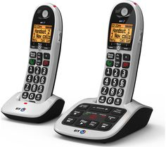 Buy BT 4600 Cordless Phone with Answering Machine - Twin Handsets | Free Delivery | Currys