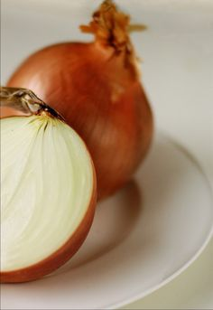Rub a sliced onion over hives to relieve the itching!