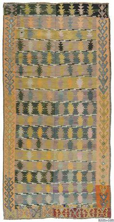 Vintage Cappadocia Kilim Rug