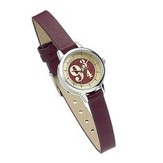 Official Harry Potter Platform 9 Watch by The Carat Shop -- Awesome products selected by Anna Churchill Harry Potter Watch, Harry Potter Scarf, Harry Potter Hermione, Harry Potter Gifts, Harry Potter Outfits, Harry Potter Schmuck, Harry Potter Jewelry, Draco Malfoy, Bordeaux