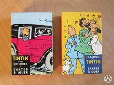 Tintin 2 jeux de cartes 7 familles Collection Morbihan - leboncoin.fr