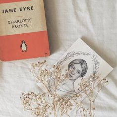 Silly little drawing I did at two in the morning after having finished Jane Eyre (yet again)📖🌿 Classic Literature, Classic Books, Jane Eyre Book, Book Flatlay, Book Aesthetic, Cinema, Penguin Books, Photo Instagram, Tumblr