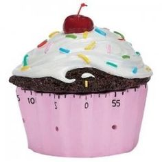 Probably the cutest kitchen timer I've seen in a minute.  haha! :)