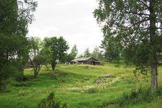 Finngården Ritamäki i Lekvattnets socken.