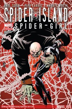 SPIDER-ISLAND: THE AMAZING SPIDER-GIRL (2011) #2  Published: September 14, 2011  Added to Marvel Unlimited: September 12, 2012  Cover Artist: Andy Troy, Patrick Zircher   SPIDER-ISLAND TIE-IN As the Society of the Wasps mobilizes an army to put a permanent end to ALL spiders, Spider-Girl to fight side-by-side with the Kingpin! But if Spider-Girl is Kingpin's