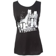 My Chemical Romance Graveyard Girls Tank Top Size X-Small ($8.83) ❤ liked on Polyvore featuring tops, shirts, my chemical romance and tank tops