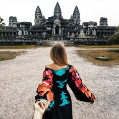 Follow me to Angkor Wat Cambodia ... ( Follow Me Project - Murad Osmann )