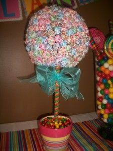 """Candyland Theme Birthday Party: Frugal Idea #kids #candy I am also doing a candy/sweets theme in my classroom! """"Coding is SWEET!"""""""