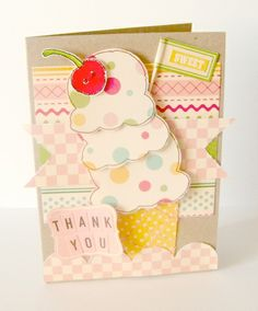 Cute ice-cream card!