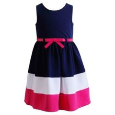 G. & V. Youngland Colorblock Dress - Girls 4-6x