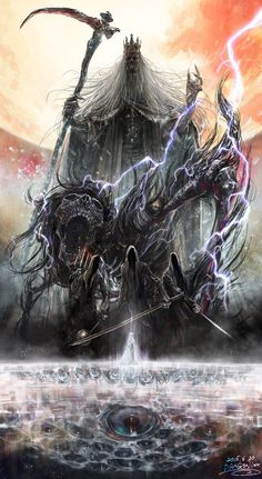 Martyr Logarius, Darkbeast Paarl, Shadows of Yharnam, Queen Yharnam, Rom. Some of the most challenging bosses of the game all in one amazing work of art.