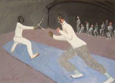 milton avery | Milton Avery, Fencers