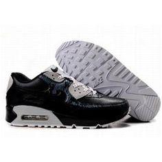http://www.asneakers4u.com/ 309299 057 Nike Air Max 90 Black Grey D05074