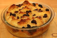 One Man's Travels: Traditional English Recipe - Graham's Bread & Butter Pudding