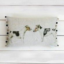 Eddie & Teddie Cushion  - Voyage Maison at Lily and Moor