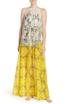 Main Image - Ted Baker London Passion Flower Cover-Up Dress