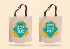 Design Futures exhibition materials on Behance