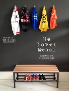 Soccerroom for a 8 year old boy. www.facebook.com/RoomToBeDifferent