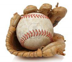 old baseball gloves
