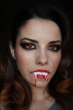 Halloween Makeup - Sexy Vampire Tutorial