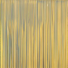 Poured Lines: Pale Lemon, Blue, Yellow, Beige, Cream