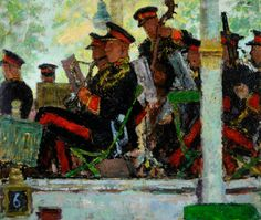 museum oil painting bandstand - Google Search